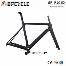 Spcycle 2019 New Disc Brake Carbon Road Bike Frames T1000 Full Carbon Racing Bicycle Frameset With