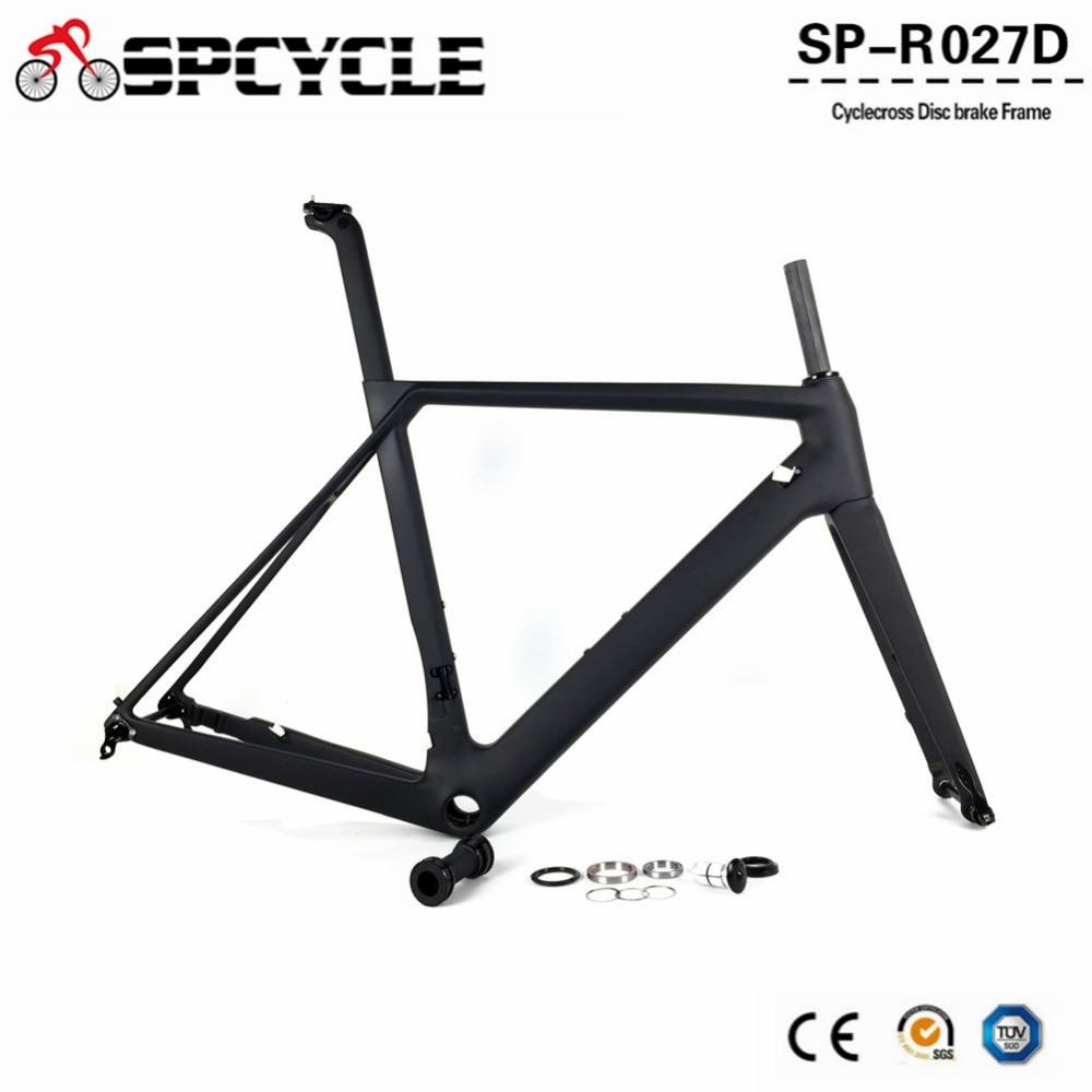 Spcycle 2019 New Disc Brake Carbon Road font b Bike b font Frames T1000 Full Carbon