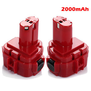 High Quality 2pcs Hot 2000mAh 12V Ni CD Power Tool Battery for Makita 1220 1222 1233