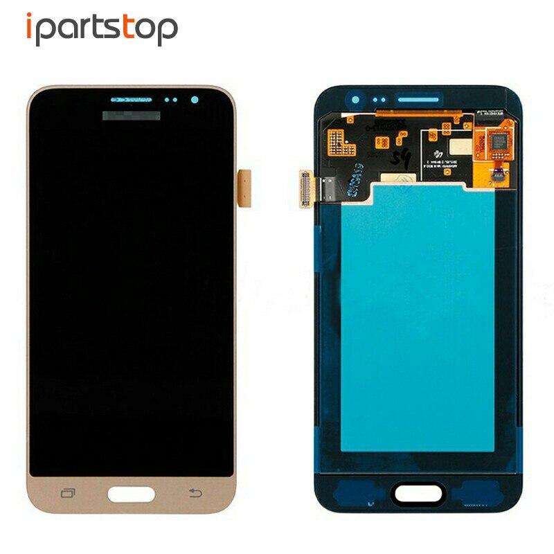 все цены на  Original OEM Display For Samsung J3 2016 J320 J320F J320A J320M LCD Screen With Touch Digitizer Assembly Black White Gold  онлайн