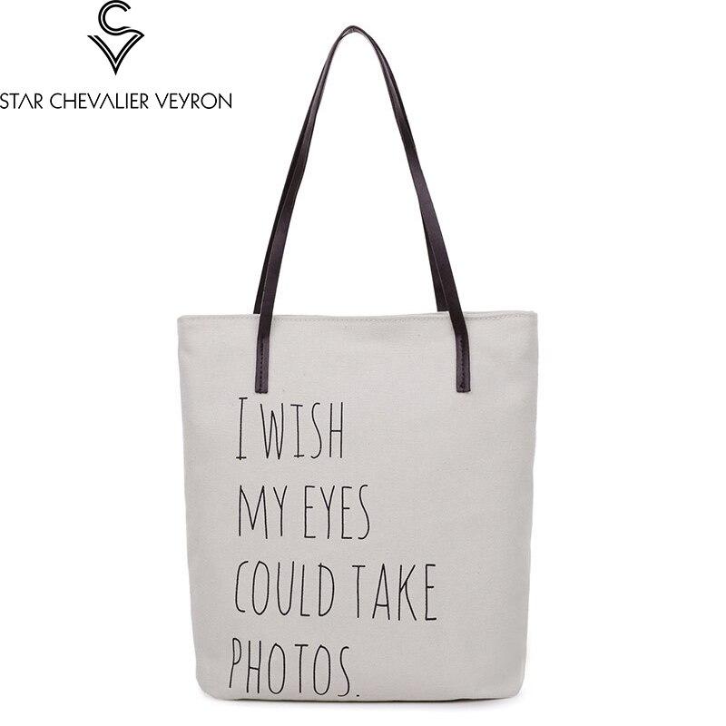SCV 2019 coréen art femmes sac étudiant sac à bandoulière portable lettre toile sac simple sacs à main tendance