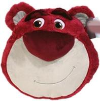 New Arrival Original Toy Story Big Lotso Strawberry Bear Cute Cushion Plush Toy Doll Birthday Children