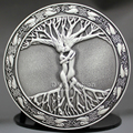 Speical Vintage Silver Tree Of Life Love Nordic Mythology Belt Buckle Pagan Wicca Unisex