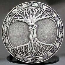 Speical Vintage Silber Baum Des Lebens Liebe Nordische Mythologie Gürtelschnalle Pagan Wicca Unisex