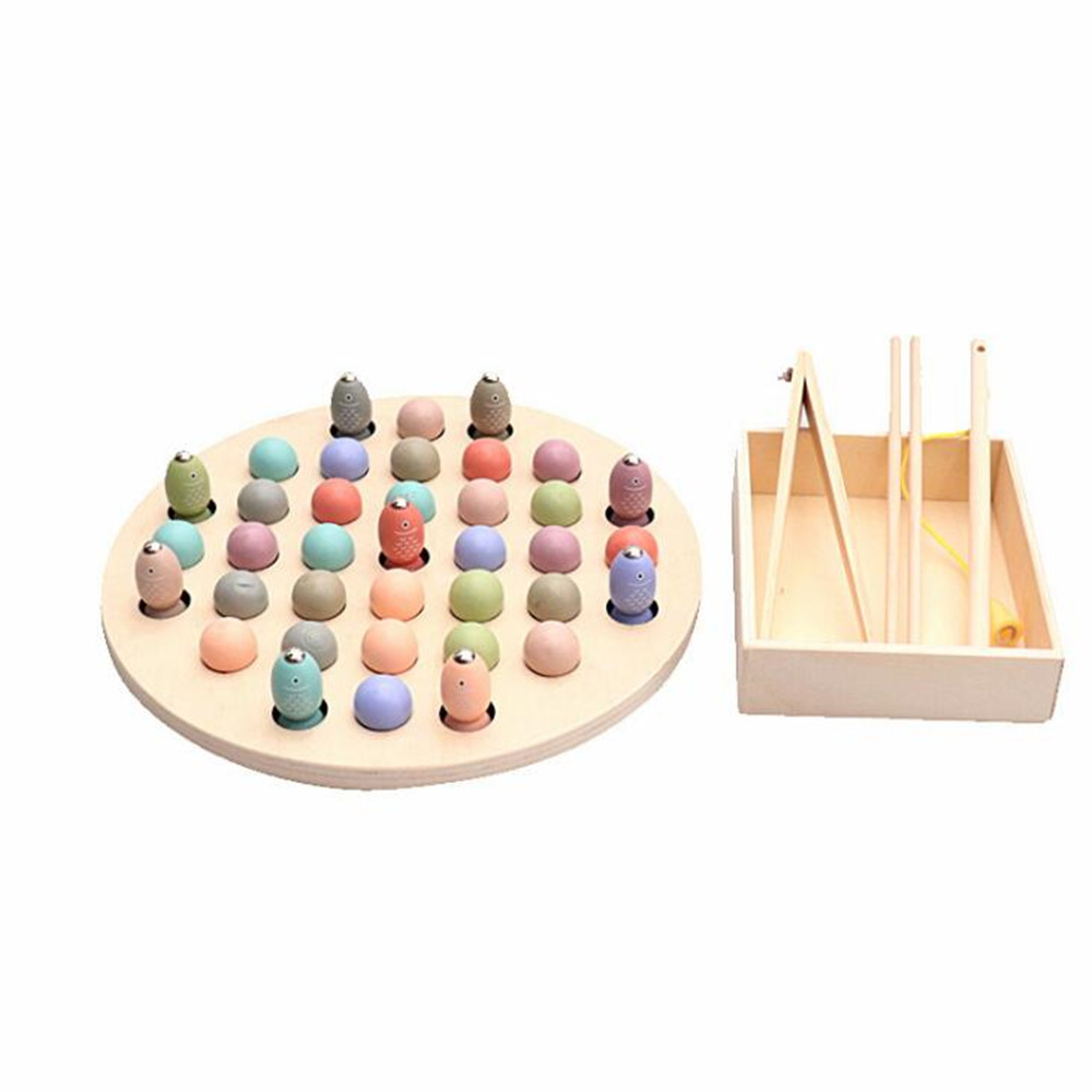 2019 New Arrival Kids Early Educational Toys Clip Beads Fishing Multi Functional Learning Toy For Children Montessori