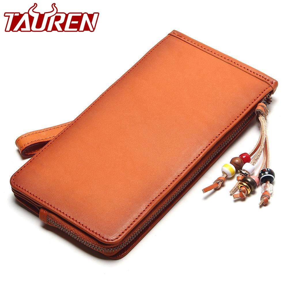 Tauren Handmade Vintage Wallet Mens Retro Purse Retro Bags Italian Vegetable Tanned Leather Brush Color Retro Wallets Pure Color mirella sole 9139 page 7
