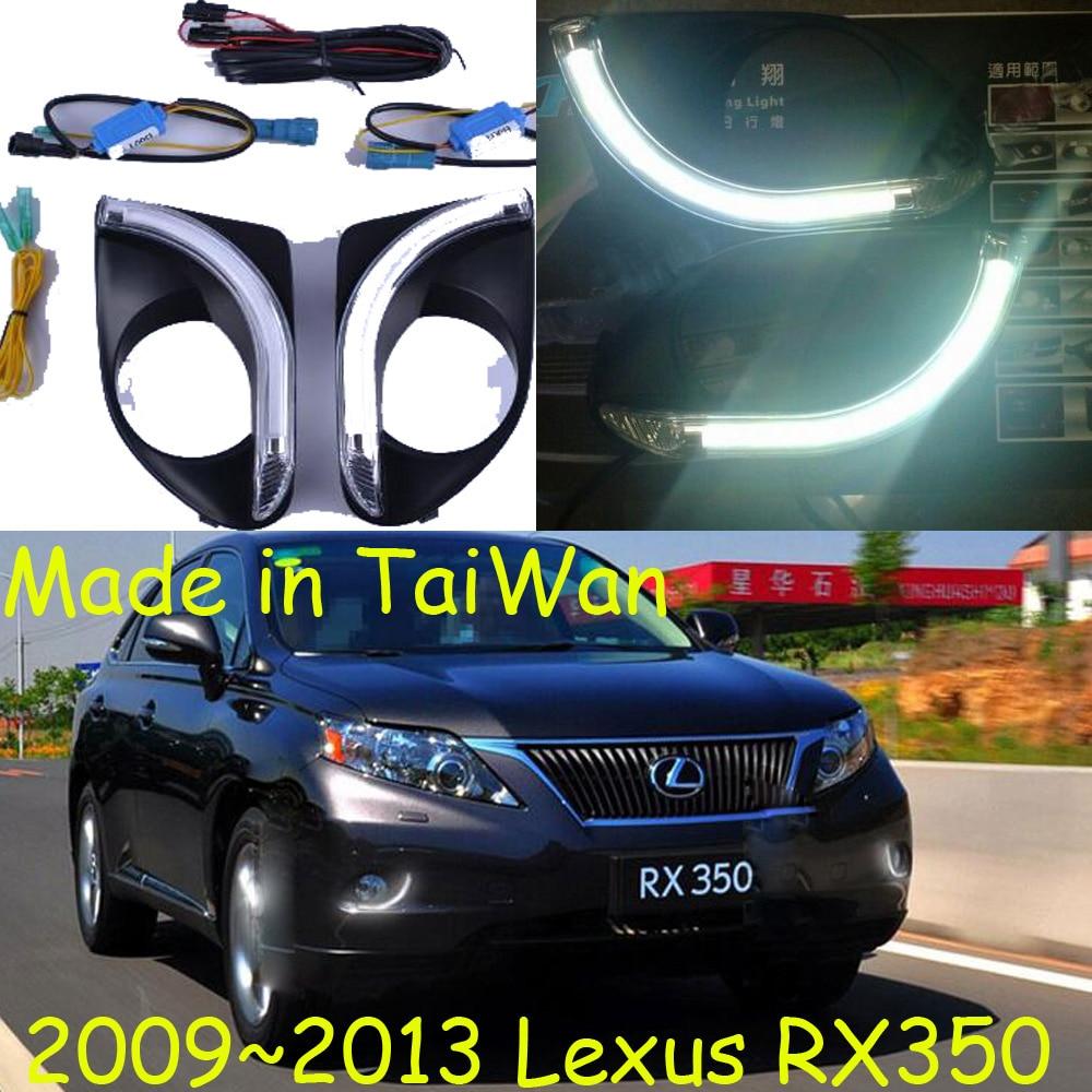 Car-styling,RX350 daytime light,2009~2013,TaiWan made!chrome,LED,Free ship!2pcs,car-detector,RX350 fog light,car-covers,RX 350 for lexus rx gyl1 ggl15 agl10 450h awd 350 awd 2008 2013 car styling led fog lights high brightness fog lamps 1set