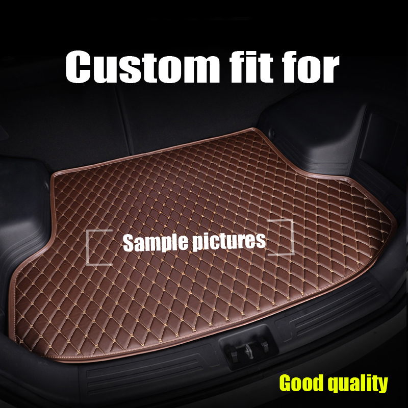 Custom Foot Case Car Trunk Mats For BMW 3 Series E90 E91