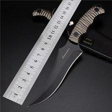 Outdoor Self-defense Field High Hardness Saber Wilderness Survival Fruit Small Straight Tool Aluminium Handle Steel Knife
