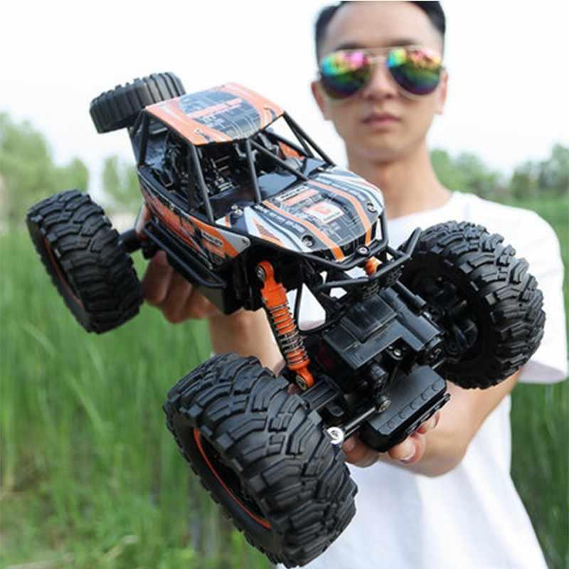 RC автомобилей 1/14 4WD удаленного Управление высокое Скорость автомобиля 2,4 ГГц Электрические RC игрушки Monster Truck багги для бездорожья игрушки для детей-сюрприз радиоуправляемые машины машина на радиоуправлении