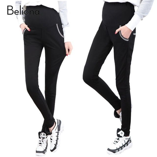 Spring Summer Maternity Pants for Pregnant Women Elastic Casual Pregnancy Clothes High Waist Maternity Clothing Skinny Trousers