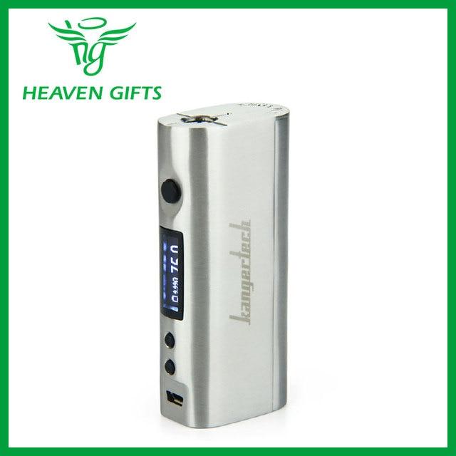 100% authentic kangertech kbox mini tc mod 75 w mod cigarro e-controle de temperatura com display oled de kangertech vs kanger kbox