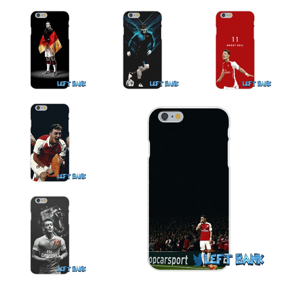 Football Soccer Star Mesut Ozil Europe Slim Silicone Case For iPhone X 4 4S 5 5S 5C SE 6 6S 7 8 Plus