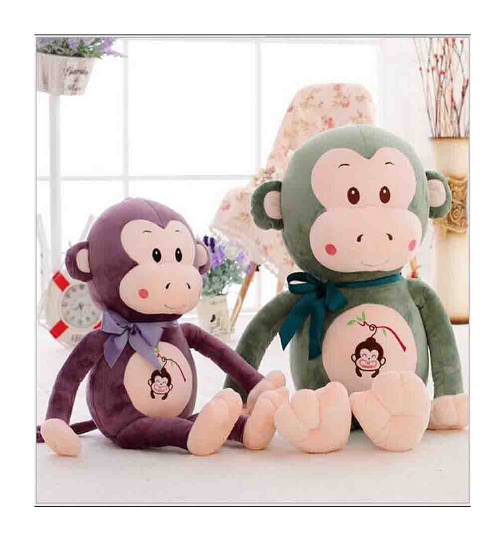 3 color Long Arm Monkey Stuffed Animal Plush Baby Toys Dolls Soft Kids Gift