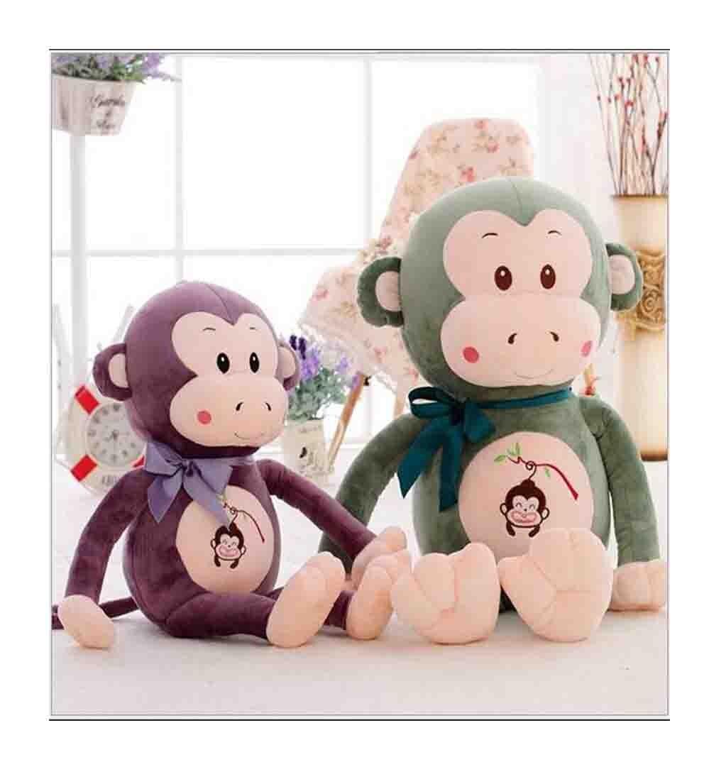 3 couleurs Long bras singe en peluche animaux en peluche bébé jouets poupées doux enfants cadeau