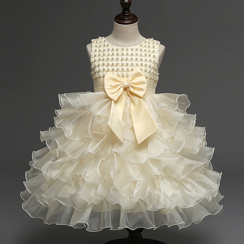 New Baby Girl Dress Summer Party Dress Sleeveless Bow Girls Tutu Dress Princess Chiffon Toddler Lace Flower Clothes Vestido nice женское платье 2015 desigual vestido summer dress