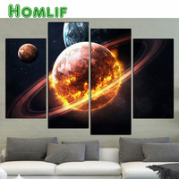 New 3d Diy Full Diamond Painting Galaxy Mars Cross Stitch 5D Diamond Embroidery Round Square Mosaic