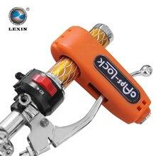 Lo nuevo 2015 CROC-LOCK vespa de la motocicleta manillar puño del acelerador cerradura de seguridad de bloqueo, accesorios de la motocicleta, ajusta a la mayoría Scooter