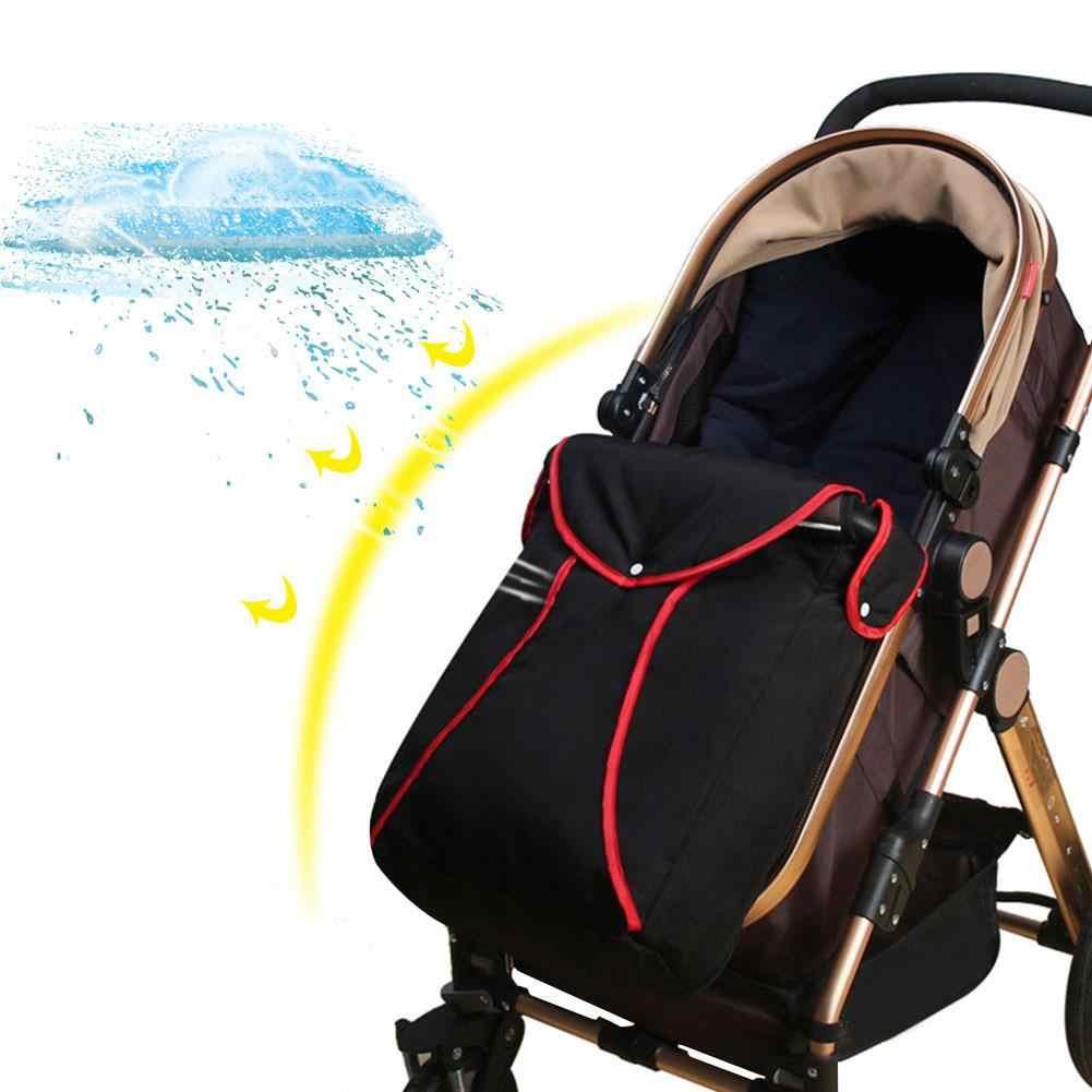 Su geçirmez Evrensel Bebek Arabası Ayak Muff Buggy Pamuk Pram Puset Bebek ayak koruyucu Bebek Arabası Aksesuarları