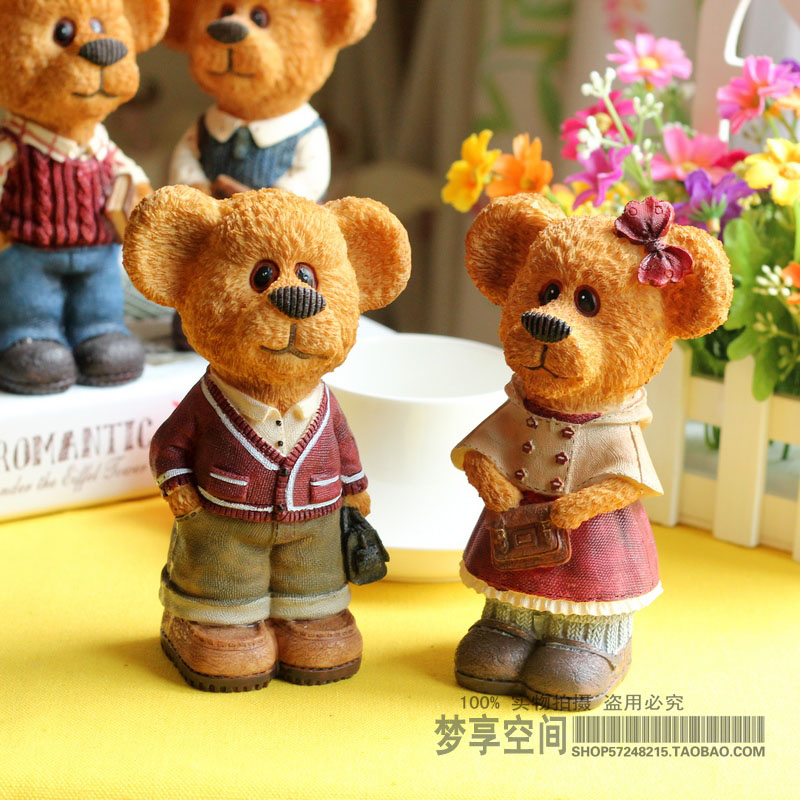 Home accessories resin decoration wedding gift decoration