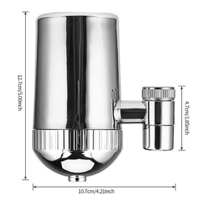 Image 5 - Faucet Mounted Water Filter Mineral Stone Tap Water Purifier Kitchen Tap Water Filter Rust Removal Washable Filter 5 Stages 31