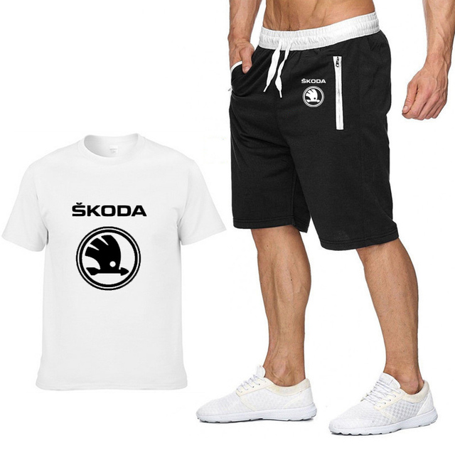 Mens Short Sleeve Skoda Car...