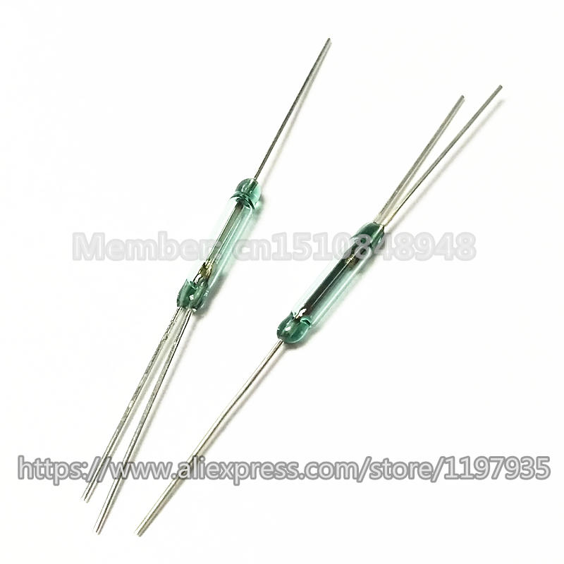 3 pin Reed Switch Normally Open and Normally Close Conversion Reed Switch 2 5X14MM magnetic switch