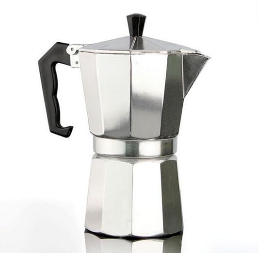 3/6cup Italian Stove top/Moka espresso coffee maker/percolator pot tool