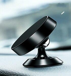 Image 5 - Soporte Universal para teléfono de coche soporte metálico de 360 grados soporte magnético para teléfono móvil soporte autocebante accesorios para coche