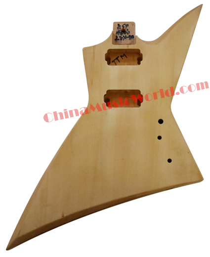 Afanti Music DIY guitar DIY Electric guitar body (AJB-73) 30 cm diameter afanti music gong afg 1082