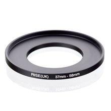 מקורי עלייה (בריטניה) 37mm 58mm 37 58mm 37 כדי 58 צעד עד טבעת מסנן מתאם שחור