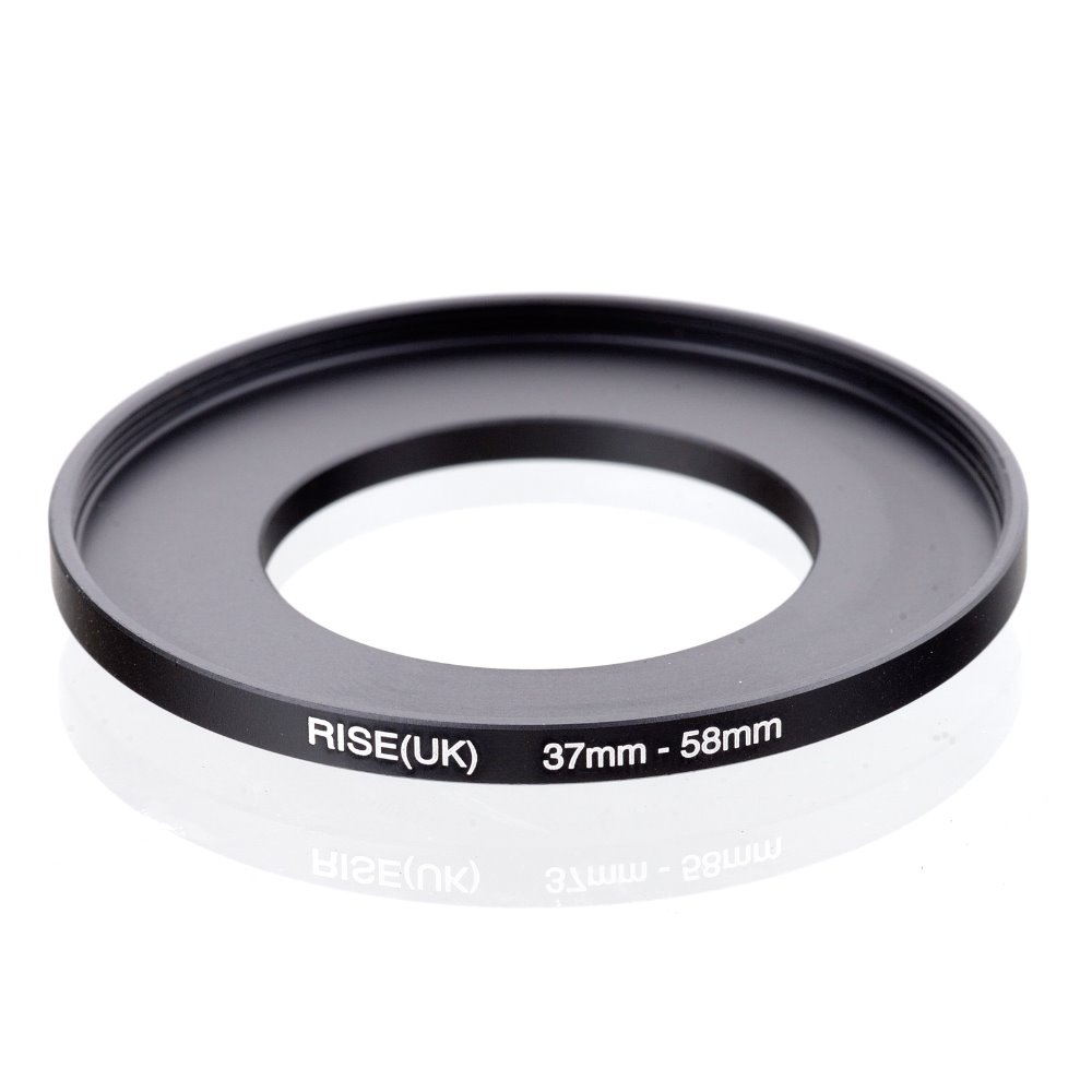 Original RISE(UK) 37mm-58mm 37-58mm 37 To 58 Step Up Ring Filter Adapter Black