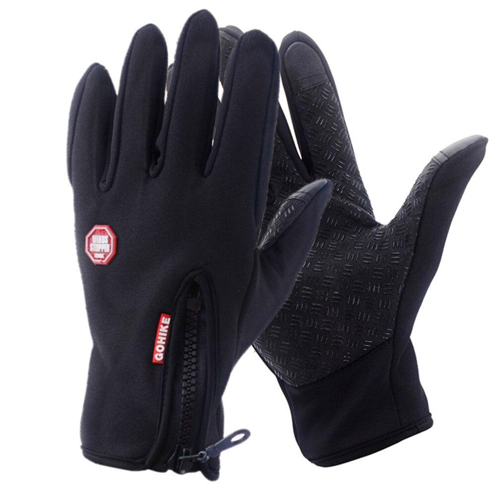 Men Women Outdoor Climbing Cycling Sports Gloves Full Finger Touch Screen Gloves Warm Mittens
