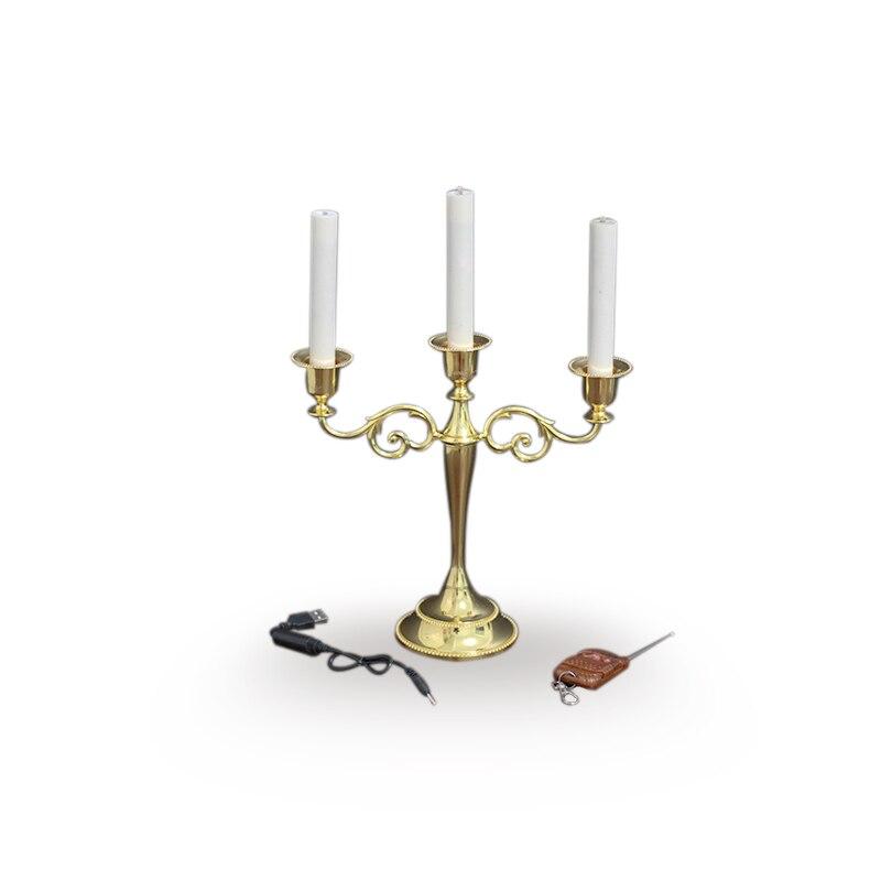 Automatique tasse en métal bougie 3 bougies Set par Jeimin tours de magie amusant scène Illusions magiques accessoires pour Magican professionnel