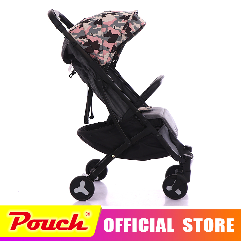 Mstar baby strollers ultra-lightweight folding can sit can lie high landscape umbrella baby trolley summer and winter Mstar baby stroller ultra portable umbrella car baby winter summer hand can sit and lie folding child baby car suspension