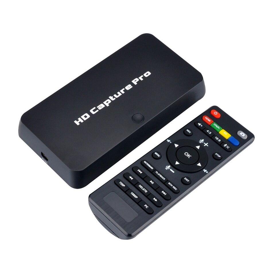 Ezcap295 HD Video Capture Pro HDMI 1080 p Registratore di Schede di Acquisizione di Riproduzione USB con Telecomando di Controllo Per Xbox 360 PS4 set-Top Box