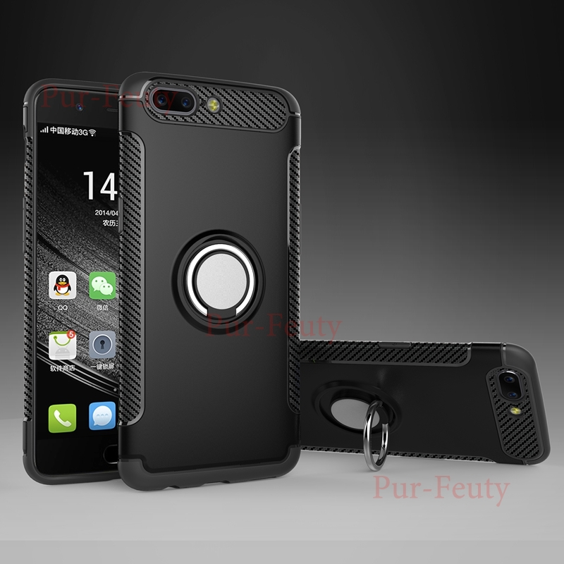 <font><b>Cases</b></font> For <font><b>OnePlus</b></font> 5T OnePlus5T <font><b>A5010</b></font> 1Plus 5T Finger Ring Holder Stand Magnetic Car Bracket Back For One Plus 5T 1Plus5T A 5010 image