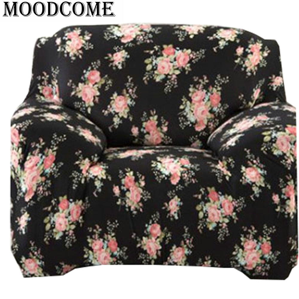 Spandex Sofa Covers New Fashion Housse Canape Flower