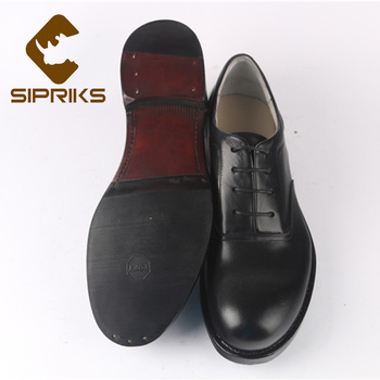 Sipriks Mens Genuine Cow Leather Black Dress Oxfords Leather Sole With Rubber Boss Custom Sewing Welted Shoes Gents Suit Flats