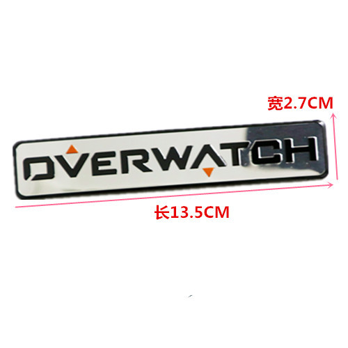 SUKO New Style Overwatch Figure Game Sticker Car Styling D.VA Bunny 3D metal Motorcycle Vinyl Decal Overwatch Exterior parts