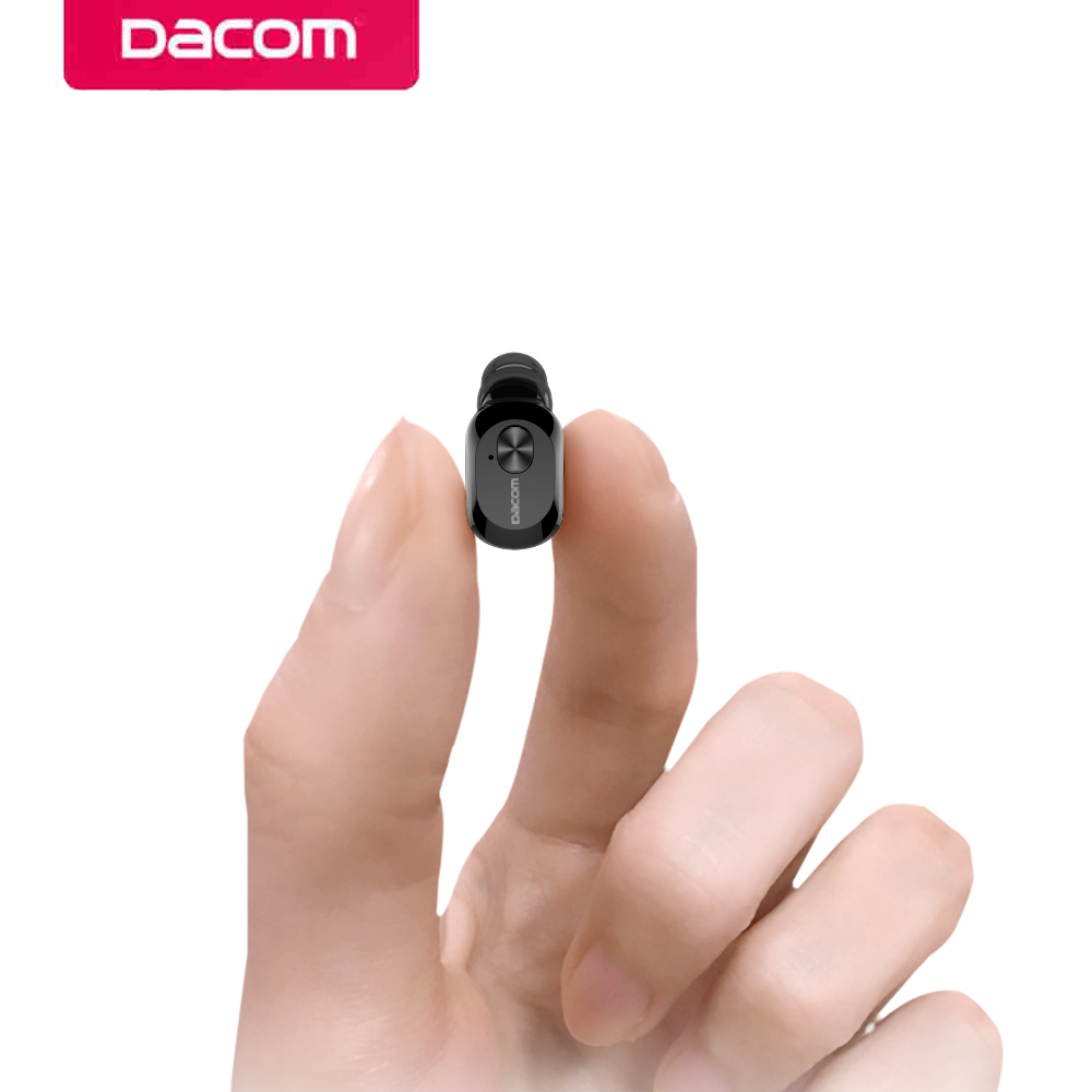 DACOM K6P Mini Bluetooth Earphone In-ear Wireless Mono Earbud Two Layer Eartips Earpiece ...