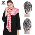 2016 European Fashion cross striped women imitate cashmere Winter big shawls Scarf ladies scarves women's big wraps Z1673