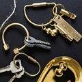 Kreative Messing Keychain Tragbaren Schlüssel Ring Flasche Opener Pfeife Herrscher Versiegelt Box Einzigartige Organizer Tools Keychain Zubehör Haken & Leisten Heim und Garten -