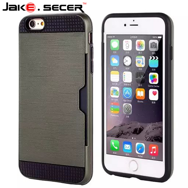 2017 New Card Storage Phone Cases For Iphone 5 5s 6 6s Plus Case 4