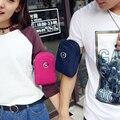 Céu fantasia à prova d' água nylon moda jovem estilo coreano sólidos unisex bonito mini star pequeno braço packs saco protable casual vogue
