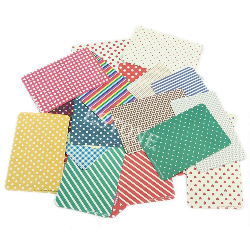 Decorative Washi Masking Tape Craft Stickers Pack Labelling Scrapbooking