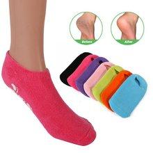 Whitening Exfoliating Foot Spa Gel Socks Moisturising Gel Heel Protectors Socks
