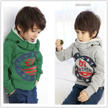 2016 New Cartoon 68 Baby Boy Girls Coat Hoodie Character Sweater Pullover Outwear Boys Enfant Hoodies Kids Children's Clothing
