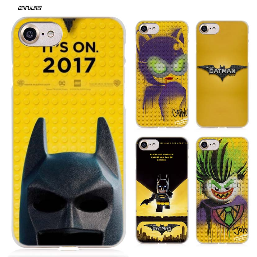 huge selection of 3800d 61b15 US $1.5 46% OFF|The Lego Batman Case for iPhone X 6 6S 7 7S 8 Plus 5S SE 5  4S 4 5C Clear Hard Plastic PC Funny Coque Capa Cover Phone Shell Hot-in ...