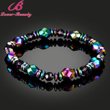 Lover Beauty Colorful Twisted Magnet Health slimming Bracelets Jewelry magnetic Bangles charm bracelets For Women weigh loss -E
